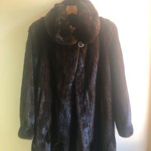Vintage REAL Mink coat!